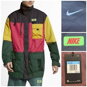 Nike ACG Quest Jacket Colorblock Jungle Oversized CI6586 082 Men's Medium M