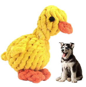 Pet Dog Chew Toys Braided Rope Indestructible Dog Teeth Dental Cleaner Gifts UK