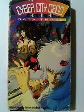 Cyber City Oedo 808: Data 1 | Rare | Vintage | VHS TAPE | Anime/Manga |Fast Ship