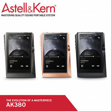 New Ak380 Astell & Kern Hi-Res Music Player Mp3 Flac Dsd, etc. - Rrp $6,199