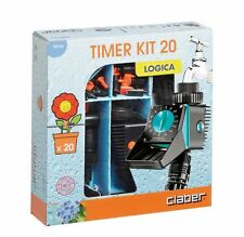 Claber Drip Irrigation Timer Kit 20 Logica. Model 90766 (includes Water Timer)