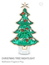 Bath & Body Works CHRISTMAS TREE Wallflowers Fragrance Plug Nightlight 2019