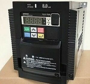 Omron 3.0KW IP20 400V 3 Phase Variable Frequency 3G3MX2-A4030-E Inverter BLUE 1