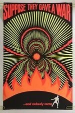 Killing to end War is like Balling to end love Black Light Poster Anti-War 1971