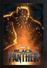 BLACK PANTHER SPARK 13x19 FRAMED GELCOAT POSTER MARVEL COMICS MOVIE BRAND NEW!!!