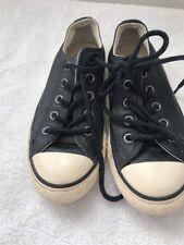 Kids Converse Size 11 Black Plimsoles Casual <JJ2762