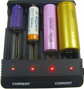 Intelligent LCD Mains Battery test Charger Tester Li-ion NiMH NiCd AAA AA CT1000