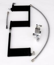 OilBud 09 Touring Oil Cooler With Polished Adaptor