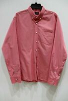 UNTUCKit mens large Solid  Long Sleeve Button Down Shirt casual fun lightweight