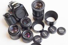 Mamiya 645 AFD with 4 Lenses