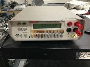 Keithley 197A Autoranging Microvolt DMM *Powers On/For Parts*   OO219