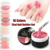 Quick Extension Builder Poly Gel Kit 15ml Polygel Nail Art Design UV Mold Tips
