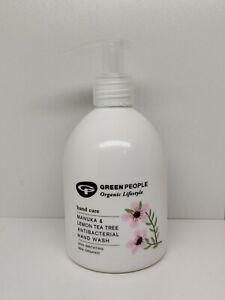 Green People Tea Tree Hand Wash Soap 300ml Manuka & Lemon