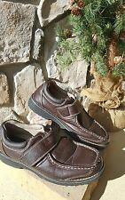 size 6 med Tommy Hilfiger mens brown dress shoes