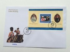 Samoa 1997 Golden Wedding Miniature Sheet First Day Cover