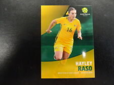 2017/18 TAP'N'PLAY A-LEAGUE CARD NO.037 HAYLEY RASO WESTFIELD MATILDAS