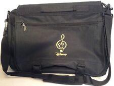 Disney Mickey Mouse Messenger Bag  Black Treble Clef Music
