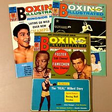 1969 Boxing Illustrated Magazines Lot of 3 (April, June, Nov.) Very Good Cond