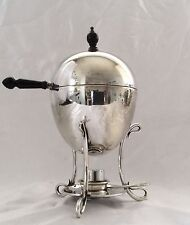Fine Antique Silver Plated Egg Coddler By Barker Brothers Birmingham C.1900