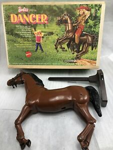 Vintage Barbie Horse Dancer Mattell Toy With BOX 1970s