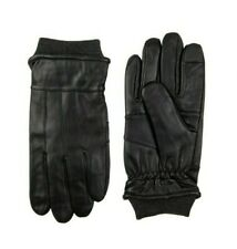 DOCKERS MEN'S INTELITOUCH KNIT CUFF LEATHER GLOVES LARGE  (GLD8)