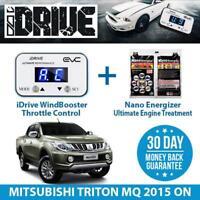 IDRIVE THROTTLE CONTROL FOR MITSUBISHI TRITON MQ 2015 ON + NANO ENERGIZER AIO