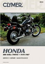 CLYMER Repair Manual, Honda 400-450cc Twins 1978-1987 , CB400 CB450 CM400 CM450