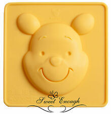 Winnie the poo Face Disney silicone mould sugarcraft cake cupcake Chocolate mold