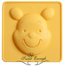 Winnie The Poo Cara Disney Silicona Molde Sugarcraft Pastel Cupcake Molde del chocolate