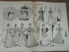 L' ART ET LA MODE - 1893 - No 22 - ILLUSTREE - COURSES DE CHANTILLY LE DERBY