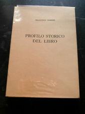 PROFILO STORICO DEL LIBRO- FRANCESCO BARBIERI- VIVARELLI ANNI '70- B2