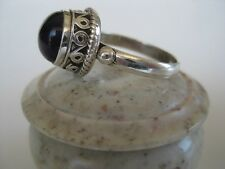 Amethyst Silver Ring Size 8.75 ~ Awesome sterling + stone
