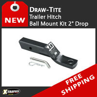 "Draw Tite Trailer Tow Hitch Ball Mount Kit 2"" Drop include Pin / Clip"