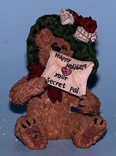 "Boyds Bears ornament ""mysteri Bearlove"" #25742 Christmas Nib 2001 Secret Pal"