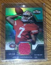 2011 Triple Threads Colin Kaepernick Jersey Serial # 16/18