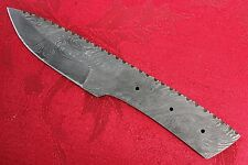 "Pioneer Custom Made Damascus Steel ""Blank Blade""File Work 9"" Pt-411 New Arrival"