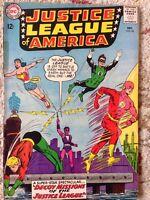 Justice League of America (DC, 1963) #24 Fox G/VG flash Green Arrow Lantern