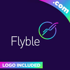Flyble.com is a cool brandable domain for sale! Godaddy