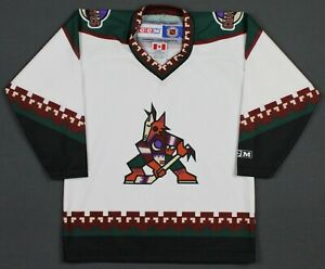 Phoenix Coyotes 90's Vintage CCM NHL Hockey Jersey Youth OSFA