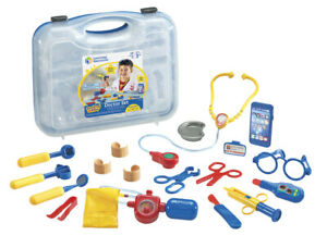 Learning Resources Pretend & Play Doctor Kit For Kids, Blue Doctor/Veterinarian