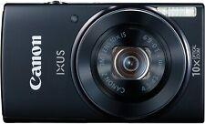 Canon IXUS 155 / PowerShot ELPH 150 IS 20.0MP Digitalkamera Schwarz - neuwertig!