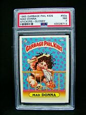 GARBAGE PAIL KIDS 1985 2nd Series #50a Mad Donna - GLOSSY 2** OS2 Grade PSA 7 NM