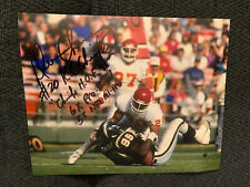Deron Cherry Signed 8 X 10 Photo Autographed Football