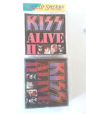 Kiss ~ ALIVE II ~ cd 1977 NEW LONGBOX(long box) Ace Frehley.Peter Criss (2) live