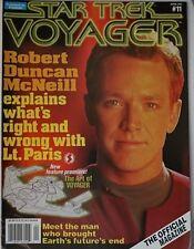 Starlog Star Trek - Voyager. #11 April 1997 Excellent