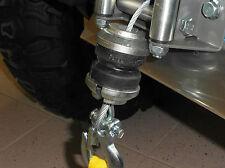 Seilstopper für Winden ATV / Quad, Gummi Puffer für Seilwinde Bumper Anschlag