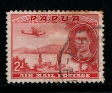 Papua PNG 1939 2d Air Mail SG163 Used see note