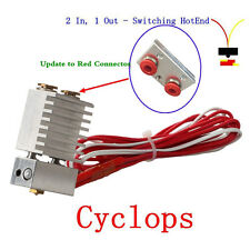 The Cyclops Hotend Extruder 2 In 1 Out Switching Multi-extrusion Bowden Hot End