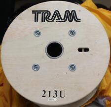 Tram Browning Tramflex RG-213U MIL SPEC COAX 500 FT ROLL REEL Best full Roll $$$