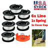 For Black & Decker String Trimmer Line Spool AF-100-3ZP Weed Eater 6 Pack NEW